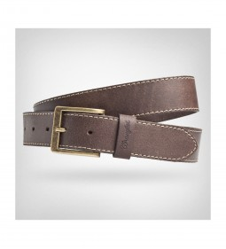 "Wrangler ""Basic Stitched Belt"" Brown"