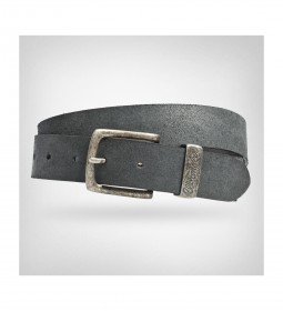 "Wrangler ""Basic Metal Loop Belt"" Black"