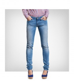 "Wrangler W23S ""Courtney Skinny"" Blue Not"