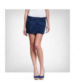 "Lee ""Mini Skirt"" Bandana Blue"