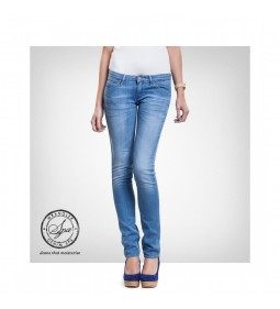 "Wrangler W23S ""Courtney Skinny"" Blue Dream - DENIM SPA"