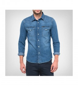 "Lee ""Western Shirt"" Blue Stance"