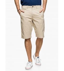 """Wrangler """"Chino Shorts"""" Camel"""