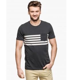 "Lee ""Stripe tee"" Washed Black"
