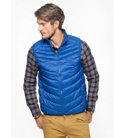 "Lee ""Puffer Vest"" True Blue"