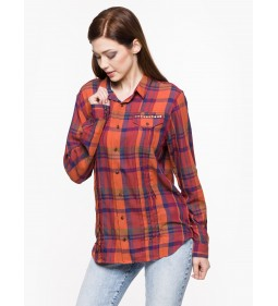 "Wrangler ""Studs Shirt"" Red Brick"