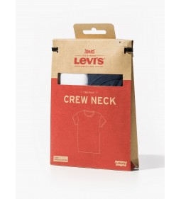 "Levi's ""Slim 2 Pack Crew Tee"" European Navy/ White"