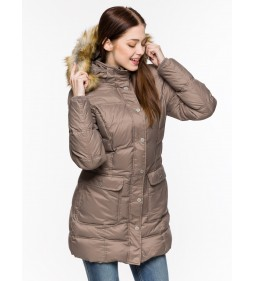 "Wrangler ""Long Puffer Jacket"" Chanterelle"