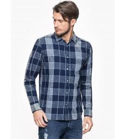 """Wrangler """"1 PKT Shirt"""" Dark Indigo"""