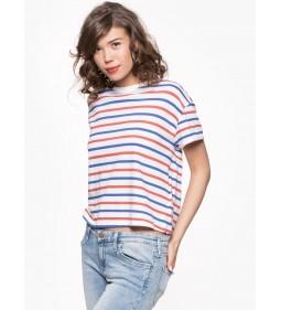 "Lee ""Relaxed Stripe Tee"" Workwear Blue"