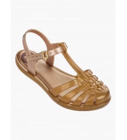 "Zaxy ""Dream Sandal"" Gold"
