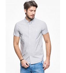 """Wrangler """" S/S 1 PKT Shirt """" Offwhite"""