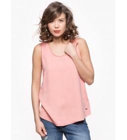 "Wrangler ""Tank Shirt"" Coral Peach"