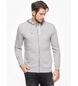 "Lee "" Zip Hoody"" Grey Mele"
