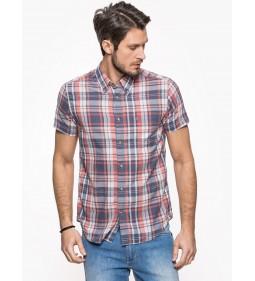 """Wrangler """" S/S 1 PKT Shirt """" Rose"""