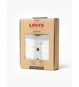 "Levi's ""Long Boxer 1 Pack"" Grey Melange"