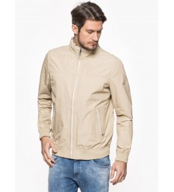 "Wrangler ""Bomber Jacket"" White Pepper"