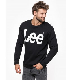 "Lee ""Logo Sweatshirt"" Black"