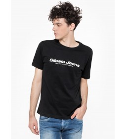"Silesia Jeans ""Logo T-shirt"" Black"