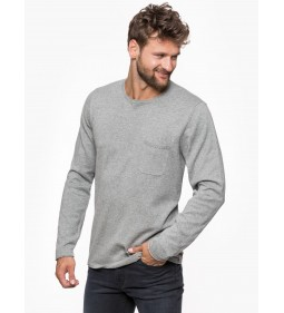 "Lee ""Crew Knit"" Grey Mele"