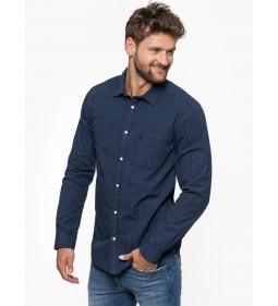"""Wrangler """"L/S 1Pkt Shirt"""" Navy"""