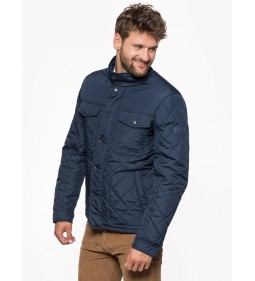 "Wrangler ""Quilted Jacket"" Navy"