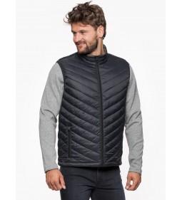 """Wrangler """"Puffer Vest"""" Black"""