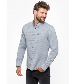 "Lee ""Button Down"" Medieval Blue"