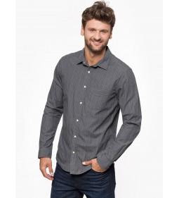 """Wrangler """"L/S 1Pkt Shirt"""" Phantom"""