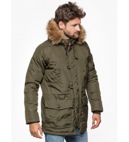 "Lee ""Arctic Parka Military"" Green"