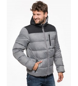 "Wrangler ""Down Jacket"" Mid Grey"