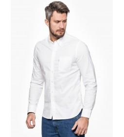"Levi's ""Sunset 1 Pocket Shirt"" White 17"