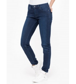 "Wrangler ""Slim Subtle"" Blue Mid Season Sale"