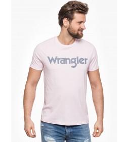"Wrangler ""Logo Tee"" Peppa Pink"