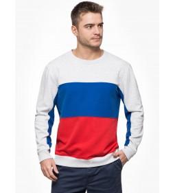"Lee ""Blocking Sweatshirt"" Sharp Grey Mele"