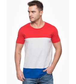 "Lee ""Blocking Tee"" Bright Red"