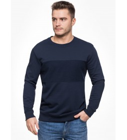 "Lee ""Blocking Sweatshirt"" Navy Drop"