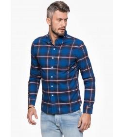"Levi's ""Sunset 1 Pocket Shirt"" Swift Dress Blues"