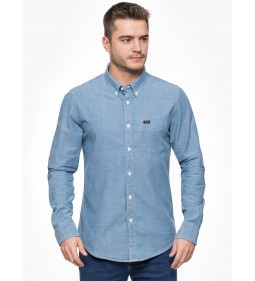 "Lee ""Button Down"" Light Blue"