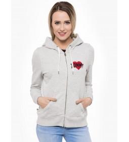 """Tommy Jeans """"Logo Zip Hoodie"""" Grey"""