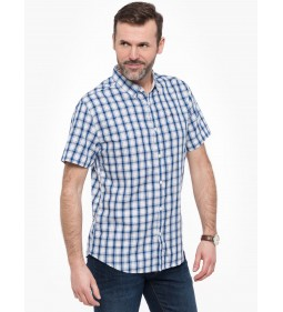 "Tommy Jeans ""Check Shortsleev"" Natutical Blue"