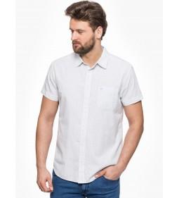 """Wrangler """"SS Pkt Shirt"""" White"""