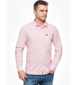 "Lee ""Slim Button Down"" Faded Pink"