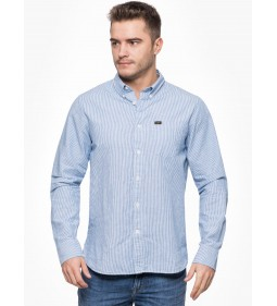 "Lee ""Premium Button"" Down Light Blue"