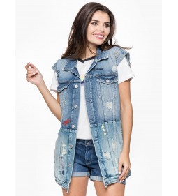 "Pepe Jeans ""Jenny Scribble"" Denim"