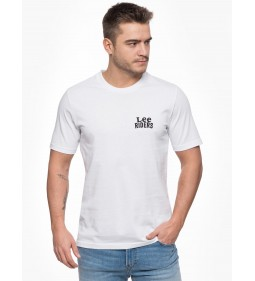 "Lee ""Mini Lee Logo Tee"" White"