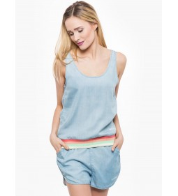 "Wrangler ""Tencel Tank"" Bleach"