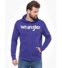 """Wrangler """"Hoodie Tropical"""" Purple"""