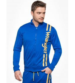 "Wrangler ""B&Y Zip Sweat"" Nautical Blue"