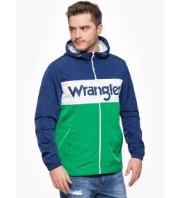 """Wrangler """"Wally Windbreaker"""" Blue Depths"""
